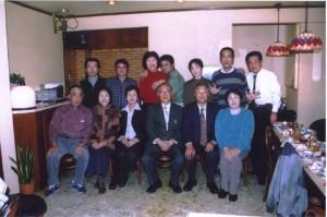 口話教室のメンバー